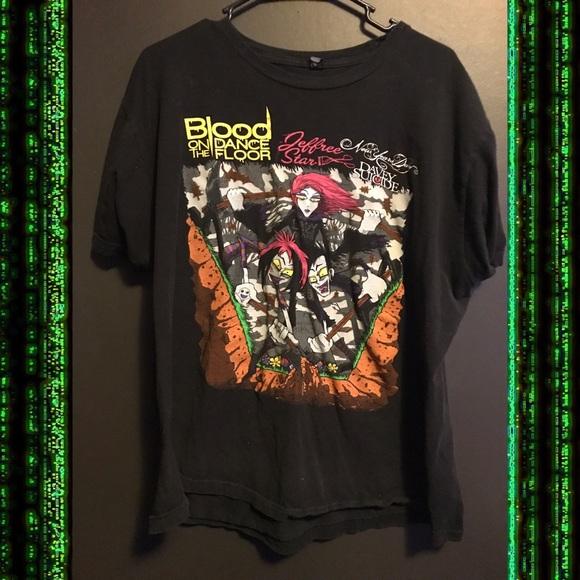 Blood On The Dance Floor T Shirt